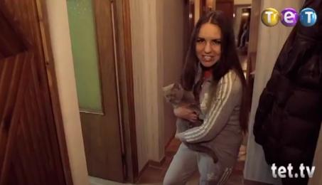 "Маша Суша в программе ""Богиня шопинга"" на телеканале ТЕТ."